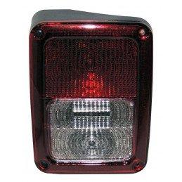 Feu arrière GAUCHE, Europe, complet avec cabochon ampoules et faisceau - Jeep Wrangler JK 2007-2011 // 55078147AC