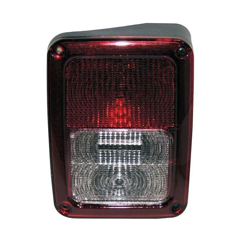 Feu arrière DROIT, Europe, complet avec cabochon ampoules et faisceau - Jeep Wrangler JK 2007-2018 // 55078146AC