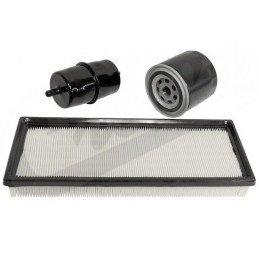 Kit 3x Filtres - Jeep Wrangler YJ 2.5L, 4.0L Essence 91-95 - filtre à air, filtre à huile, filtre à essence // MFK13-JS-V2