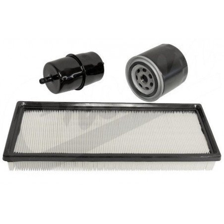 Kit 3x Filtres - Jeep Wrangler YJ 2.5L, 4.0L Essence 91-95 - filtre à air, filtre à huile, filtre à essence // MFK13-V2