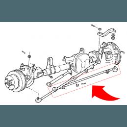 Barre d'accouplement complète - Jeep Wrangler TJ 97-06 / Cherokee XJ 91-01 / Grand Chero ZJ 93-98 // 52087674K