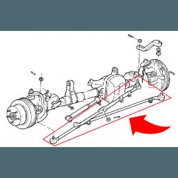 Kit Barre de direction + Barre accouplement Complètes & Renforcées - Jeep Cherokee XJ 91-01 / TJ 97-06 / ZJ 4.0L 93-98 //RT21004