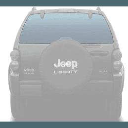 Lunette arrière / lunette de hayon Jeep Cherokee KJ 2002-2007 - Teinte CLAIRE - OCCASION // 55360340-OCC