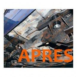 Body lift 25mm  (1 pouce) - Rehausse entre châssis et caisse - Boîtes  auto et manuelles - Jeep Wrangler YJ 1987-1995 // 931A