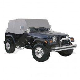Bâche d'urgence Gris - Jeep Wrangler YJ 1992-1995 TJ 1997-2006 // CC10209