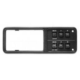Module interrupteurs vitres + fermeture centralisée porte chauffeur, noir - Jeep Cherokee XJ 1993-96 - 2 ou 4 portes //56009250