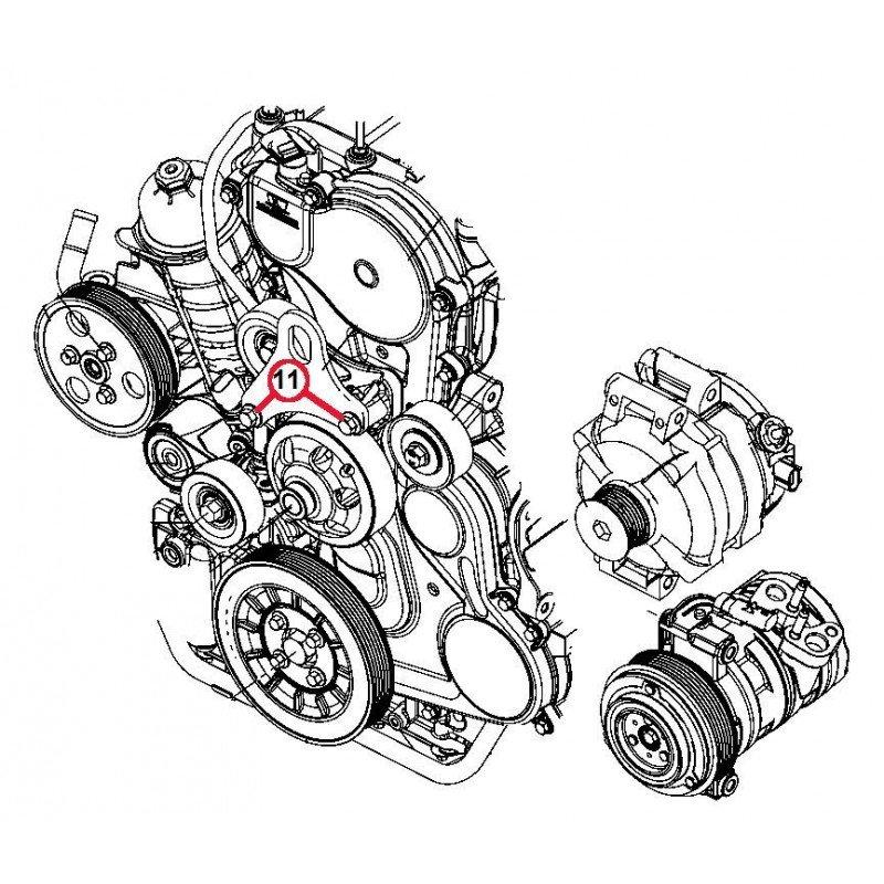 Vis de support de levage de moteur - Jeep Grand Cherokee WJ 3,1L // 5003532AC