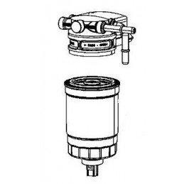 Support de filtre à gasoil Jeep Wrangler JK 2.8L CRD 2007-2011