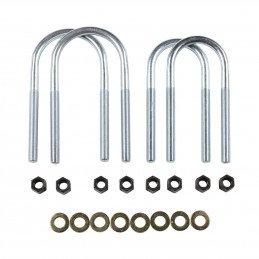 Bride de lames de suspension renforcée, AVANT / ARRIERE - Entraxe 78mm - Jeep  Wrangler YJ 1987-1995 / CJ 1974-1986 // 8130369HD