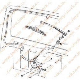 Bague Axe Moteur d'Essuie-glace arrière avec tuyau de lave-glace - Jeep Cherokee XJ 1997-2001 // 55154942AB