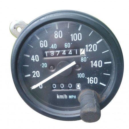 Compteur de Vitesse, en KM/H, à câble - OCCASION - Jeep Wrangler YJ 2.5L 1989-1990 // 56002916-OCC