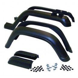Kit Extensions ailes avant/arrière droite et gauche (6 pièces) - Jeep Wrangler YJ 1987-1995 // 5AHK6