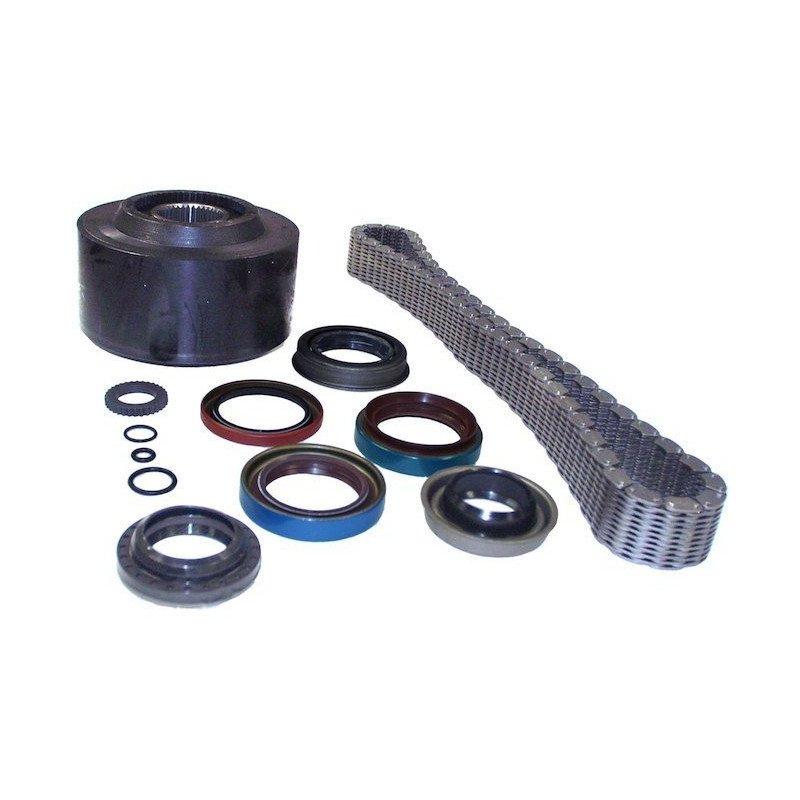 Visco-coupleur + chaîne + joints pour boite de transfert NP 249 - Jeep Grand Cherokee ZJ 1993-1996 // 4897221AA-K2