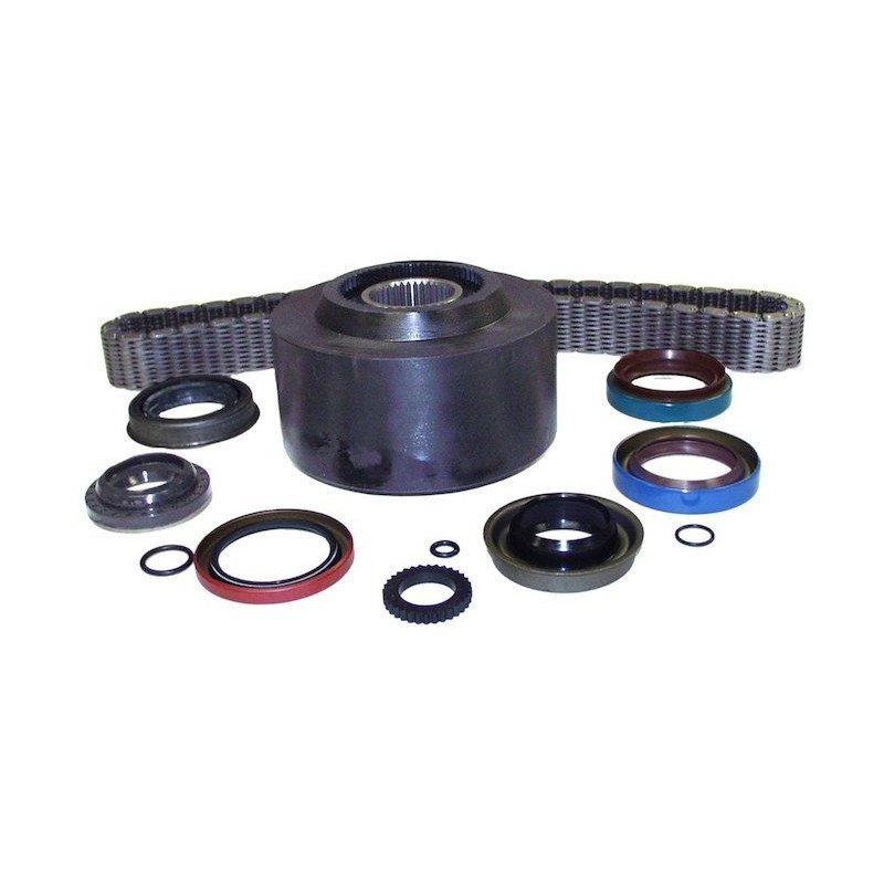 Visco-coupleur + chaîne + joints pour boite de transfert NP 249 - Jeep Grand Cherokee ZJ 1997-1998 // 4897220AA-K2