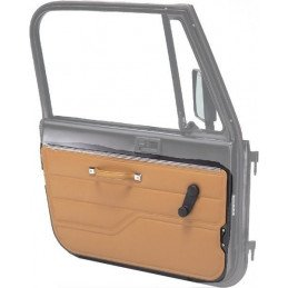 Panneau / Garniture de Porte Gauche - NOIR - Jeep Wrangler CJ, YJ 1982-1995 // 11840.01
