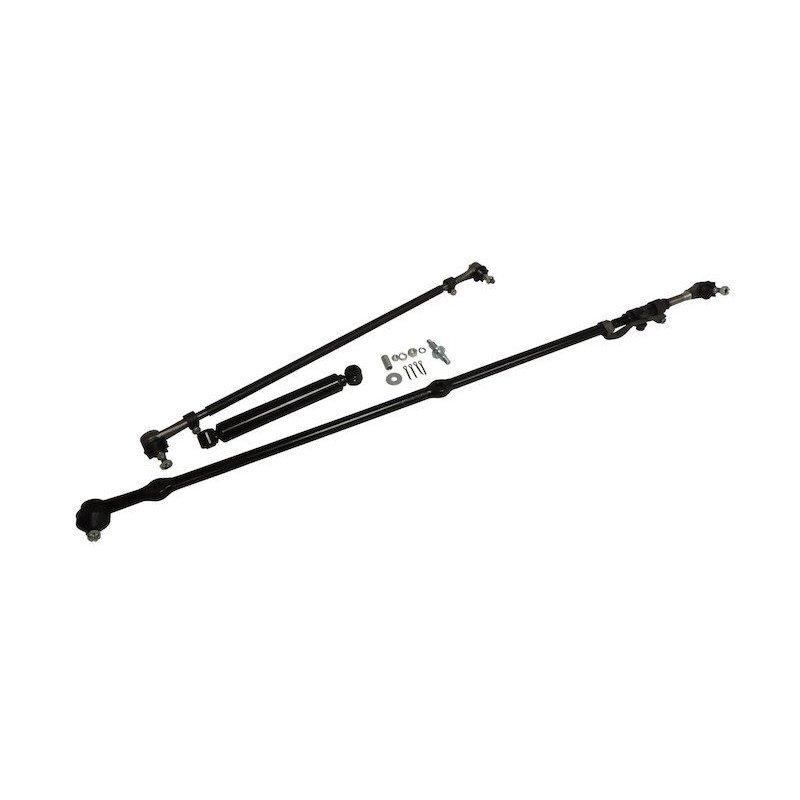 Kit Direction - barre de direction + barre d'accouplement + amortisseur de direction - Jeep Wrangler YJ 91-95 // SK4-V2