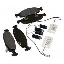 Jeu Plaquettes (x4) frein avant + accessoires - montage TEVES / Jeep Grand-Cherokee WJ WG 1999-2002 // 5011969MK-V2