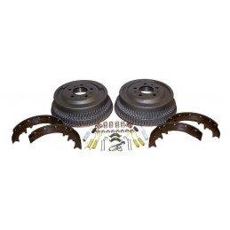 Tambours + Mâchoires + accessoires pour freins AR 255 mm - Jeep Wrangler YJ 87-89 / Cherokee XJ 84-89 // 52001151K-V2