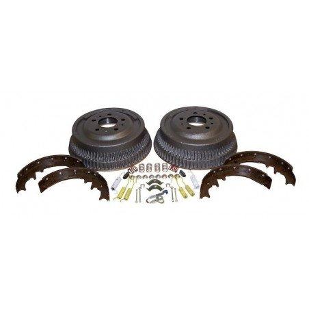 Tambours + Mâchoires + accessoires pour freins AR 10 pouces/255 mm - Jeep Wrangler YJ 87-89 / Cherokee XJ 84-89 // 52001151K-V2