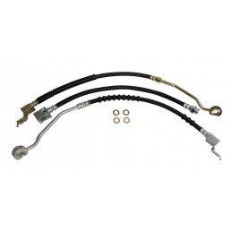 Flexibles de freins 2 x avant et 1 x arrière / Jeep Wrangler YJ sans ABS 1994-1995 // BHK6-V2