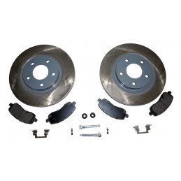 Kit de freins à disques avant 295 mm / Jeep Compass MK 2007-2017 // 5105514K-V2