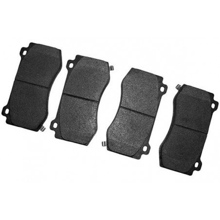Jeu Plaquettes (x4) + accessoires frein avant semi-métalliques / Jeep Grand-Cherokee WK 2006-10 SRT8 // 5174311ABK-V2