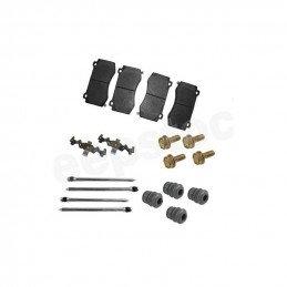 Jeu Plaquettes x4 + accessoires frein avant semi-métalliques / Jeep Grand-Cherokee WK 05-10 Version SRT8 //5174311ABPACK-V2