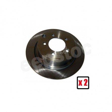 Disques de frein arrière plein 302 mm x2 - Jeep Compass MK 2007-2017 // 4743999AA-V2