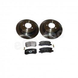 Disques de frein arrière plein 302 mm + plaquettes - Jeep Compass MK 2007-2018 // 4743999AA+68028671AA-V2