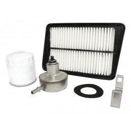 Filtres (x3) pour Jeep Wrangler TJ 2.4L Essence de 2003 à 2004, Filtre à air, filtre à huile, filtre à Essence