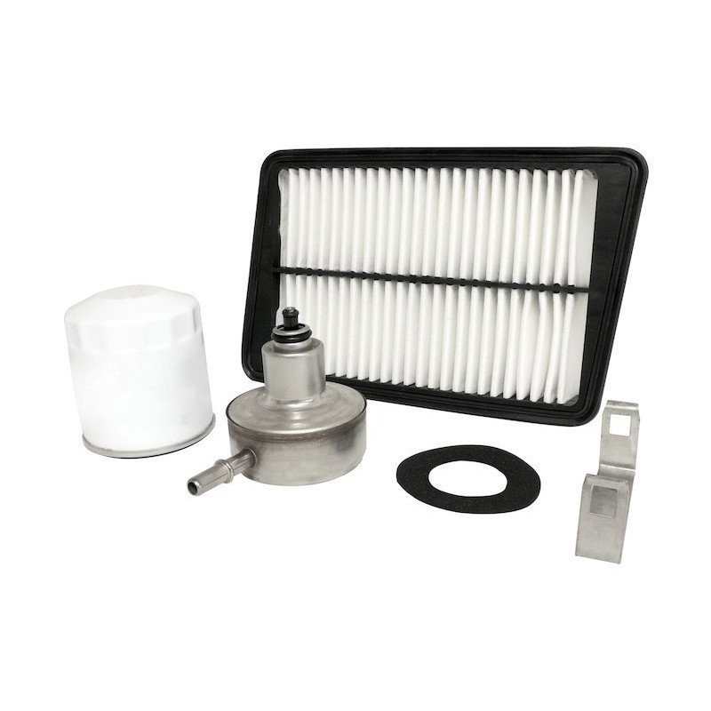 Kit 3x Filtres - Jeep Wrangler TJ 2.4L Essence 03-04 - filtre à air, filtre huile, filtre Essence // MFK19-V2