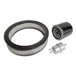 Kit 3x Filtres - Jeep Wrangler YJ 4.2L Essence 87-90 - filtre à air, filtre huile, filtre Essence // MFK21-V2