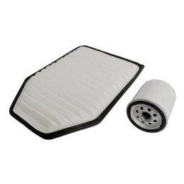Kit 2x Filtres - Jeep Wrangler JK 3.8L Essence 2007-2011 - filtre à air, filtre huile // MFK22-V2