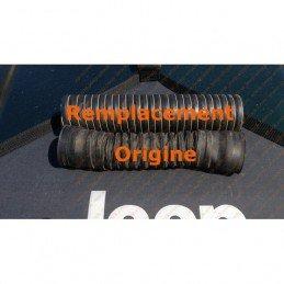 Durite noire, flexible admission air (boitier filtre au corps de papillon)- Jeep Wrangler YJ 87-90 2.5L monopoint // SHV70-DURYJ