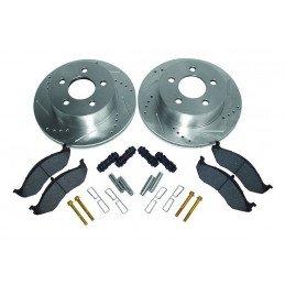 Kit Freins Avant Performance - Disques + plaquettes + accessoires - Jeep Wrangler TJ 99-06 / Cherokee XJ 99-01 // RT31012-V2