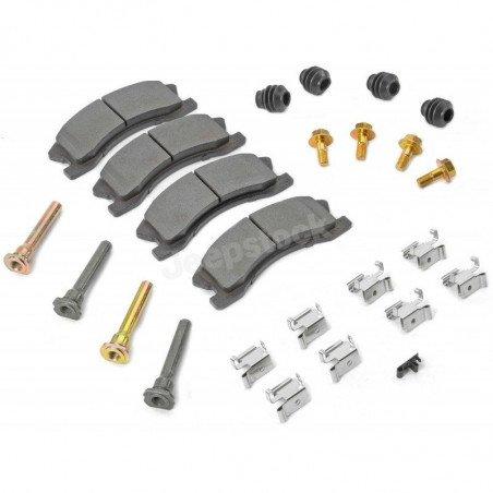 Plaquettes de frein avant (x4) + accessoires montages AKEBONO - Jeep Grand Cherokee WJ 2001-2004 // 5093183MK-V2