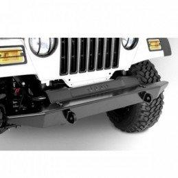 Pare-choc avant tout-terrain RT Off-Road noir satiné, en Acier renforcé Ep 5 mm - Jeep Wrangler TJ 97-06 / YJ 87-95 // RT20001