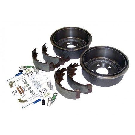 *Kit freins AR 9 pouces / 230 mm - Tambours + Mâchoires + Accessoires -Jeep Wrangler TJ 00-06 / Cherokee XJ 00-01//52005350KL-V2