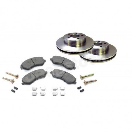 Disques + plaquettes + accessoires frein avant Jeep Cherokee 2002-2007 // 52128247AA-6427AA-V2
