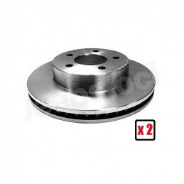 Disques (X2) de frein avant ventilé - Jeep Cherokee KJ 2002-2007 // 52128247AA-V2