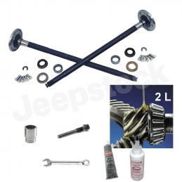 Kit Rénovation Arbre de roue Renforcée - Pont Dana 35C - Jeep Wrangler YJ,TJ 93-02/ Cherokee XJ 92-01/ Grand Cherokee ZJ 93-96