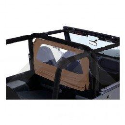 Coupe-vent Jeep Wrangler de 1976 à 2006, Marron clair
