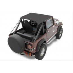 Bâche Bikini 2 places - Noir - Jeep Wrangler YJ 1987-1991 - CJ 1976-1986 // 52508-01