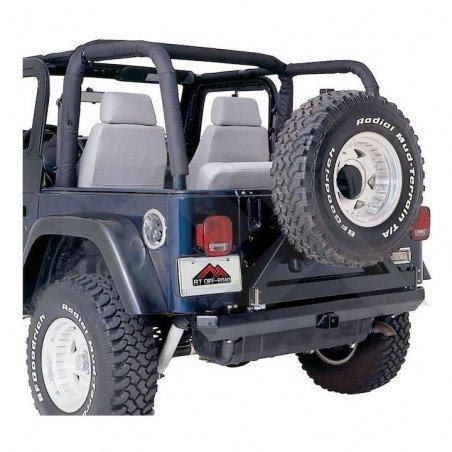 Housses d'arceaux de sécurité - Black Denim - Jeep Wrangler YJ 1992-1995 // RB10115