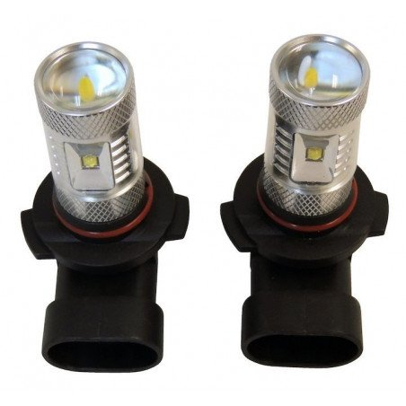 2x Ampoules Performance Antibrouillard - 360 ° LED - Jeep Wrangler JK / Cherokee KJ, KK / Grand Chero WJ, WK, XK / Compass 04-12