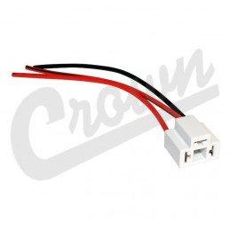 Câble/faisceau pour phares Avant H4, H6054, 6014, H6014, H6014, H6024 - Jeep Wrangler TJ, YJ 87-06 / Cherokee XJ 84-01//998475HT