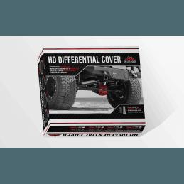Carter de différentiel arrière Chrysler 8,25 renforcé / acier forgé / rouge + Bouchon vissé  Jeep KJ, KK, WK, XJ,