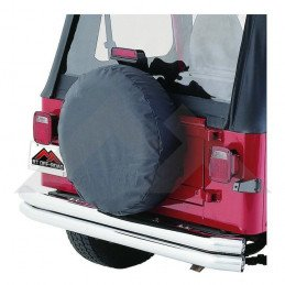 "Housse de roue de secours Black Denim - Jeep CJ Wrangler 33"" - 35"" // TC333515"