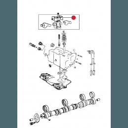 Ressort / Agrafe de maintien de poussoir hydraulique - Jeep Cherokee XJ 3,1L - 2000 // RESS-pouss-XJ