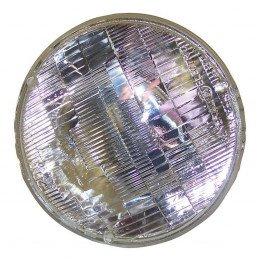 Optique Avant GAUCHE ou DROIT Mono-bloc étanche soudé (sealed beam) + ampoule 40/60W - Jeep Wrangler TJ 1997-06 / CJ 1969-86